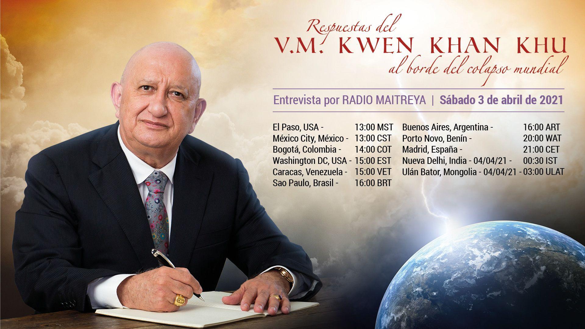 Entretien avec V.M. Kwen Khan Khu (03/04/2021)