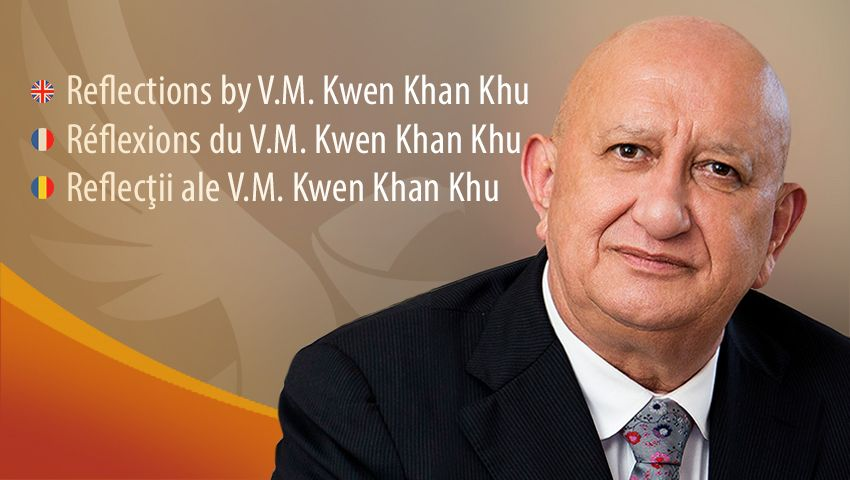Reflexiones del V. M. Kwen Khan Khu